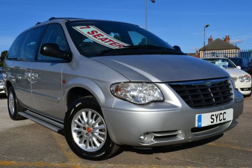 Chrysler Grand Voyager 2.8 CRD LX 5dr Auto Estate Diesel Metallic Silver