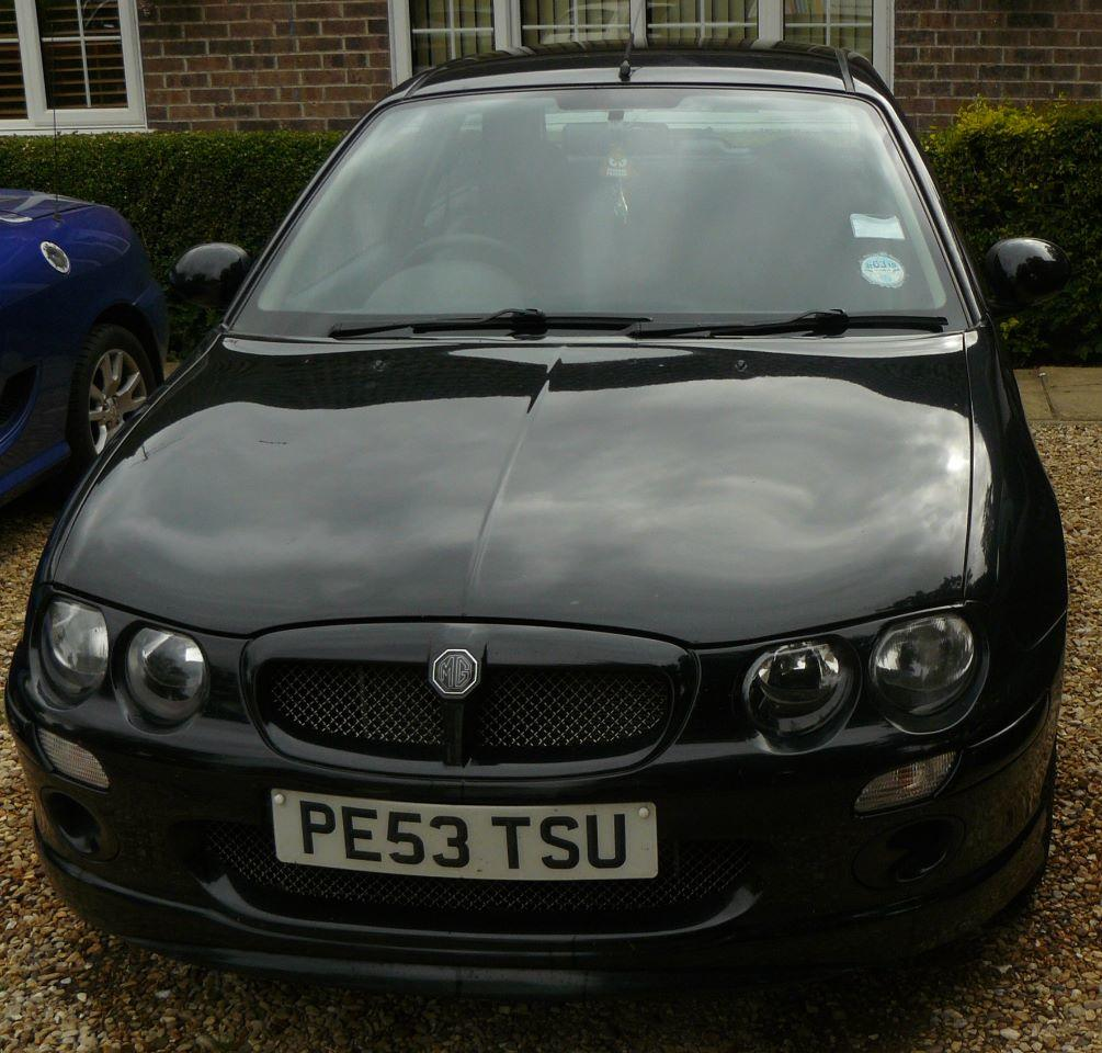 MG ZR 1.4 105 Hatchback Petrol Black