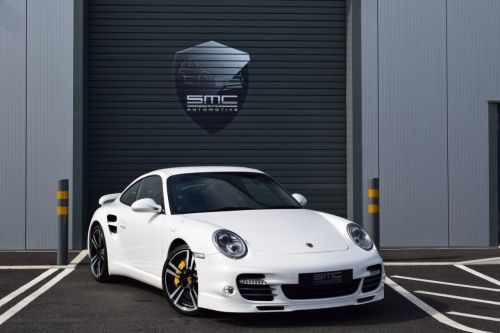 Porsche 911 3.8 Turbo S Gen II 2dr PDK, Only 10000 miles, just had major service Coupe Petrol White