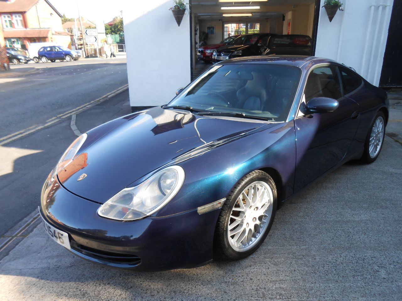 Porsche 911 Carrera 4 3.4 996 Coupe Petrol Blue