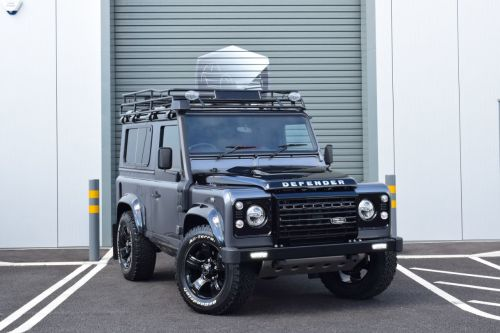 Land Rover Defender 90 Adventure Station Wagon TDCi [2.2] 150PS Over Land Edition Four Wheel Drive Diesel Grey