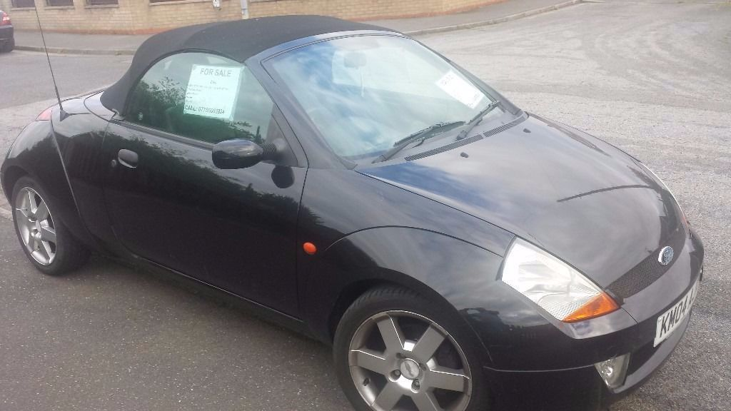Ford Streetka 1.6 8V LUXURY CONVERTIBLE PETROL BLACK