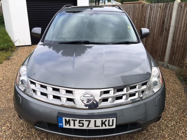 Nissan Murano 3.5 V6 E4 Four Wheel Drive Petrol Grey