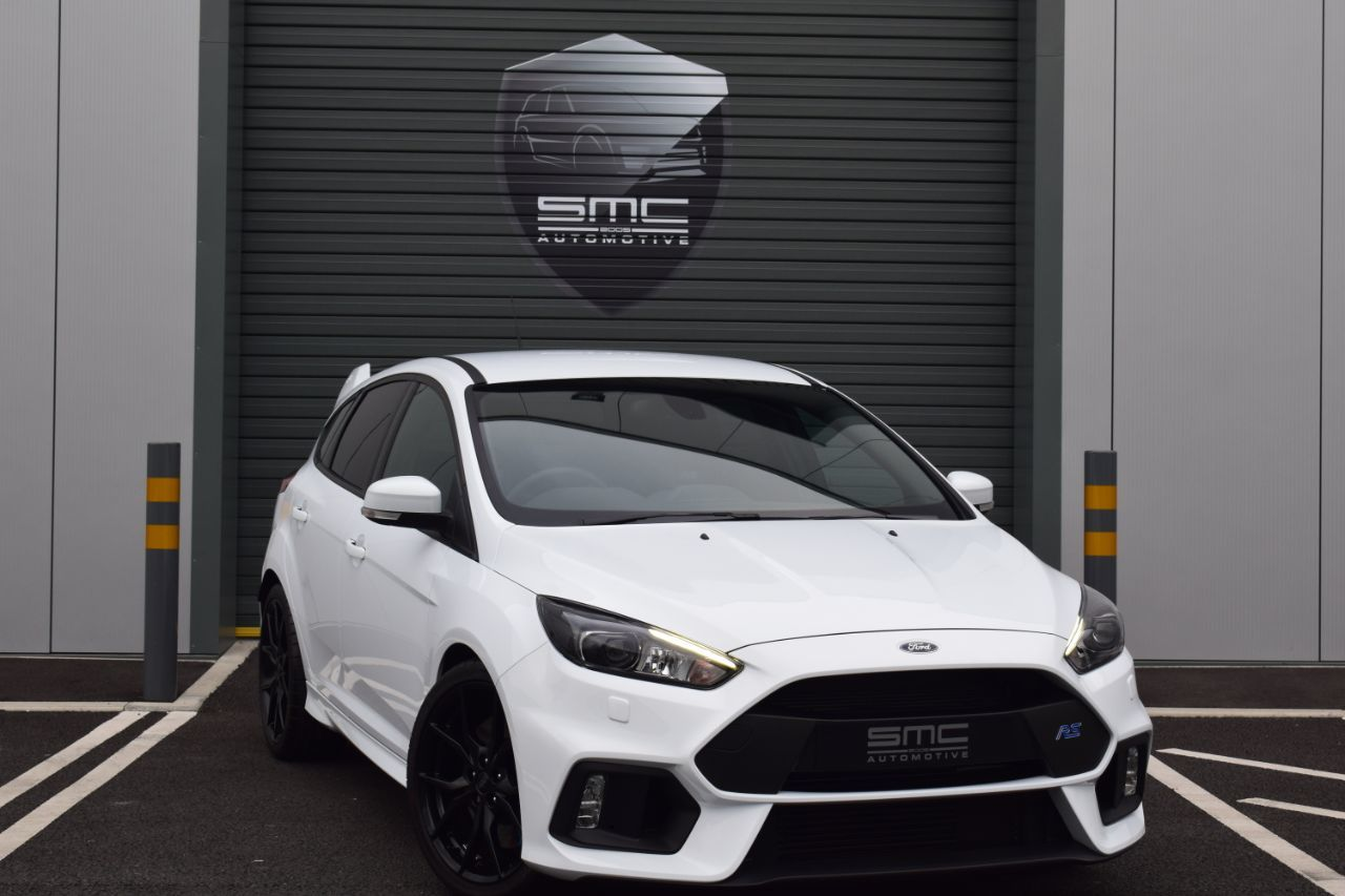 Ford Focus RS 2.3 ECOBOOST 350 BHP, delivery mileage, MASSIVE SPEC, Elfyn Evan's car, from £448.66 per month Hatchback Petrol Frozen White