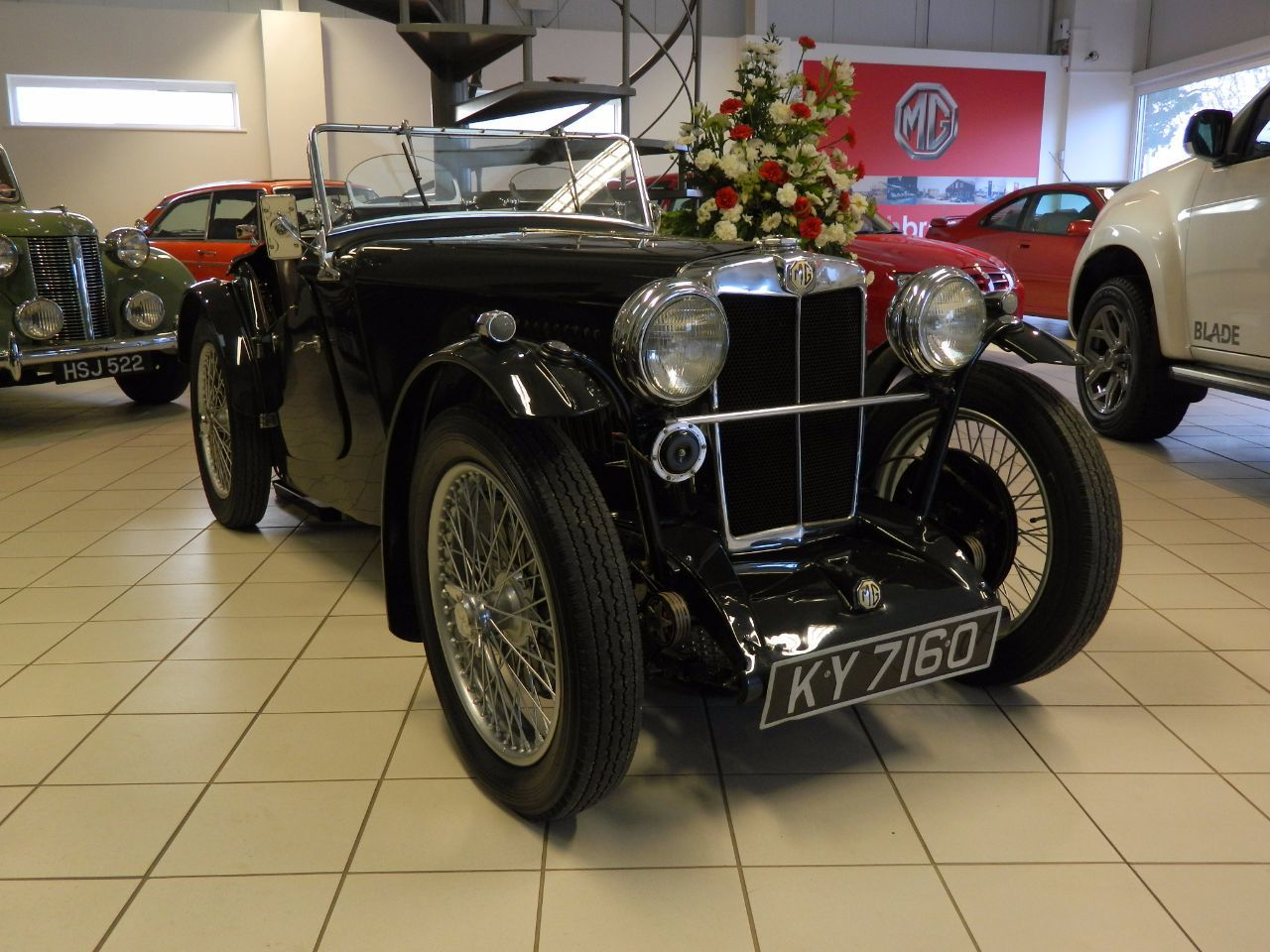 MG Midget 0.8 MG PA Sports Petrol Green