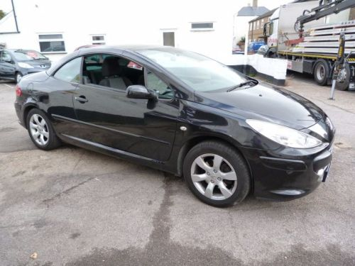 Peugeot 307 2.0 S COUPE CABRIOLET Convertible Petrol Black