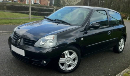 Renault Clio 1.4 16V Dynamique 3dr Hatchback Petrol Black at Ken Wallace Northallerton