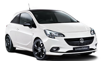 Vauxhall Corsa 1.2 Limited Edition 3dr Hatchback Petrol White at Ken Wallace Northallerton