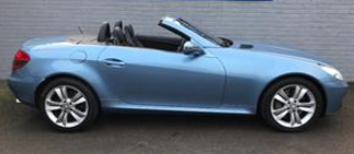 Mercedes-Benz SLK 3.2 SLK 320 2dr Tip Auto Convertible Petrol Blue at Ken Wallace Northallerton