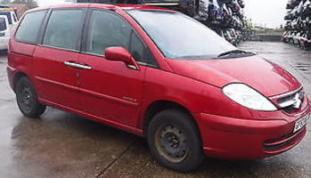 Citroen C8 2.2 HDi 16V SX 5dr [6] Estate Diesel Red at Ken Wallace Northallerton
