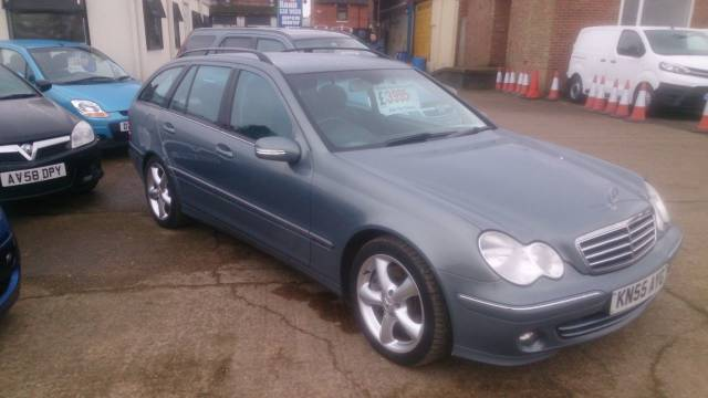 Mercedes-Benz 220 2.1 C220 CDI AVANTGARDE SE Estate Diesel Grey