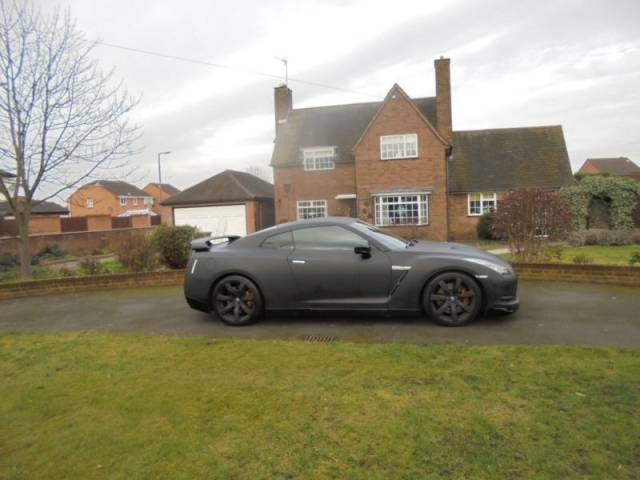 Nissan GT-R 3.8 BLACK EDITION COUPE PETROL GREY