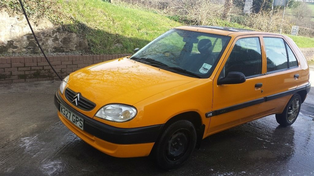 Citroen Saxo 1.1 FORTE HATCHBACK PETROL ORANGE