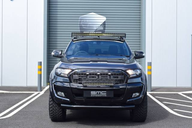 Ford Ranger Wildtrak 3.2 TDCi 4WD Double Cab SMC HAWK EDITION, OWN THIS CAR FROM £399 PER MONTH Commercial Diesel Grey