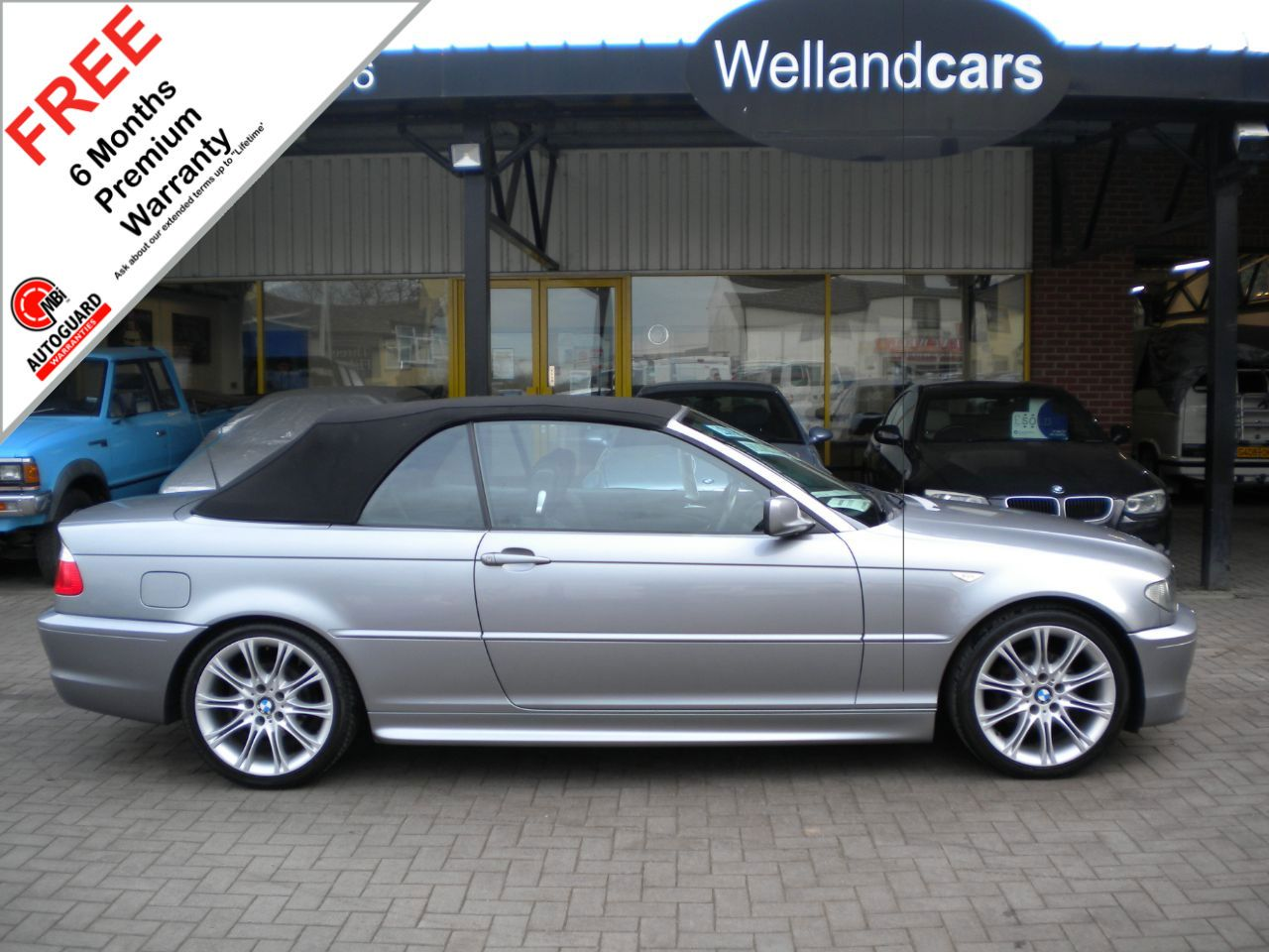 BMW 3 Series 2.0 318 Ci M Sport 2dr, Convertible, F/S/H, Low Mileage # 6 MONTH WARRANTY INCLUDED Convertible Petrol Metallic Grey at Welland Cars Shrewsbury