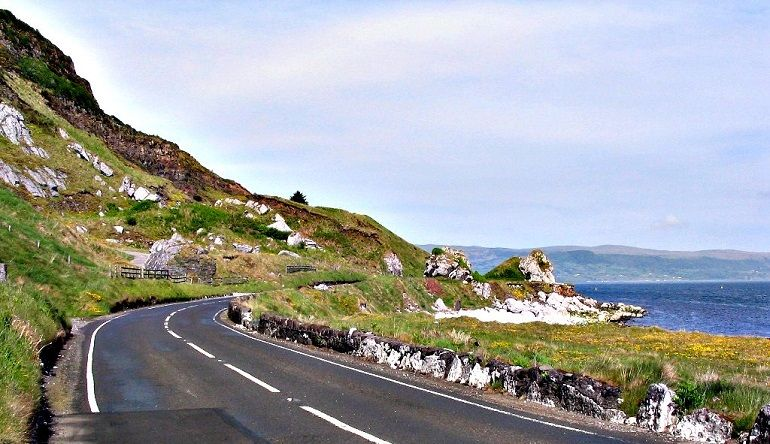Antrim Coast Road, Northern Ireland