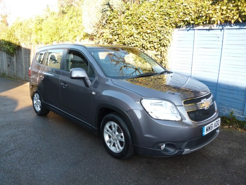 Chevrolet Orlando 2.0 Lt Vcdi 19,000 MILES FROM NEW MPV Diesel Grey