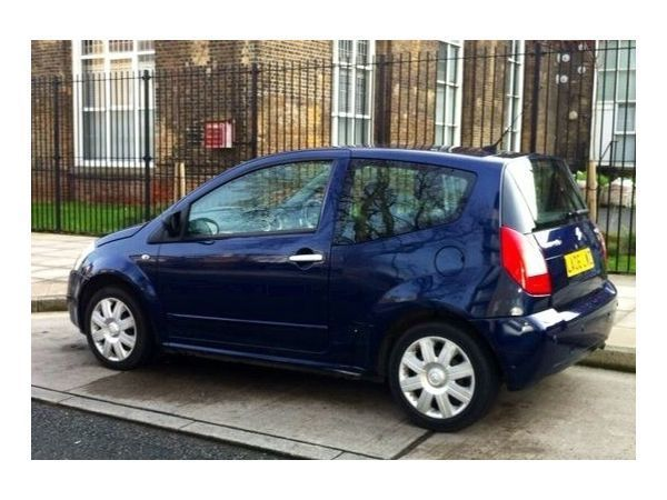 Citroen C2 1.4 SENSODRIVE STOP & START HATCHBACK PETROL BLUE