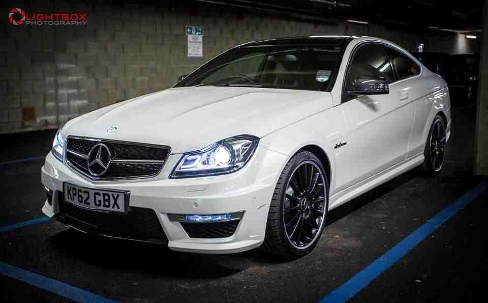Mercedes-Benz C Class 6.2 C63 AMG COUPE PETROL WHITE