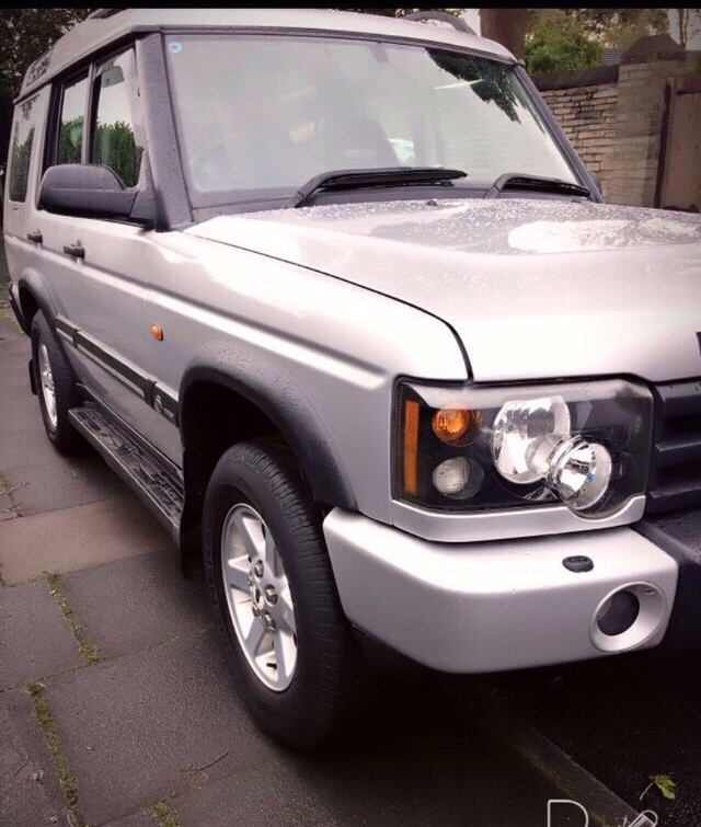 Land Rover Discovery 2.5 TD5 GS 7STR ESTATE DIESEL SILVER