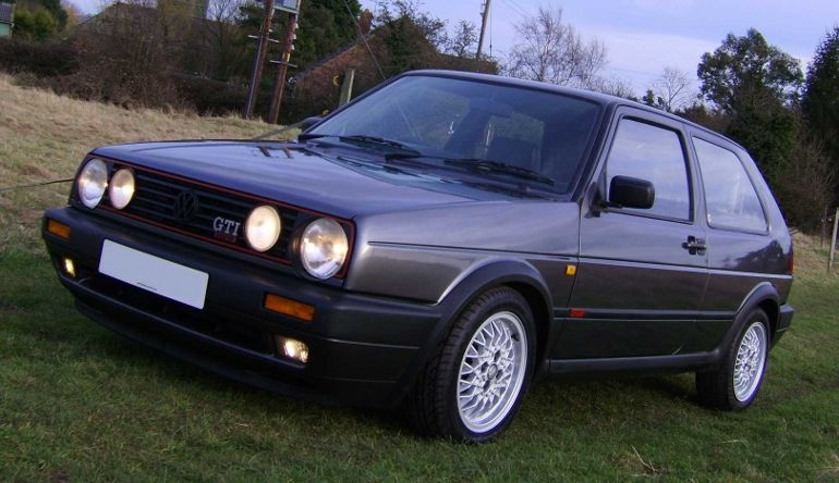 Top Cool Cars From The S VW Golf GTI MK - Cool cars from the 80s