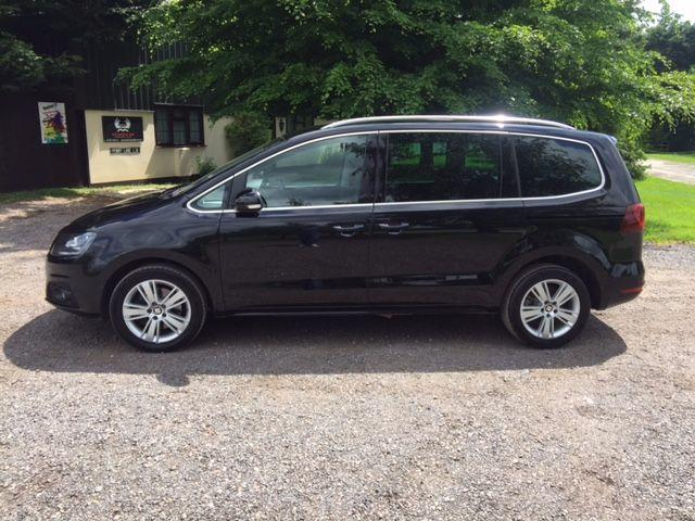 Seat Alhambra 2.0 TDI Ecomotive SE 150ps 6speed manual 2017/17 plate MPV Diesel Colour Choice