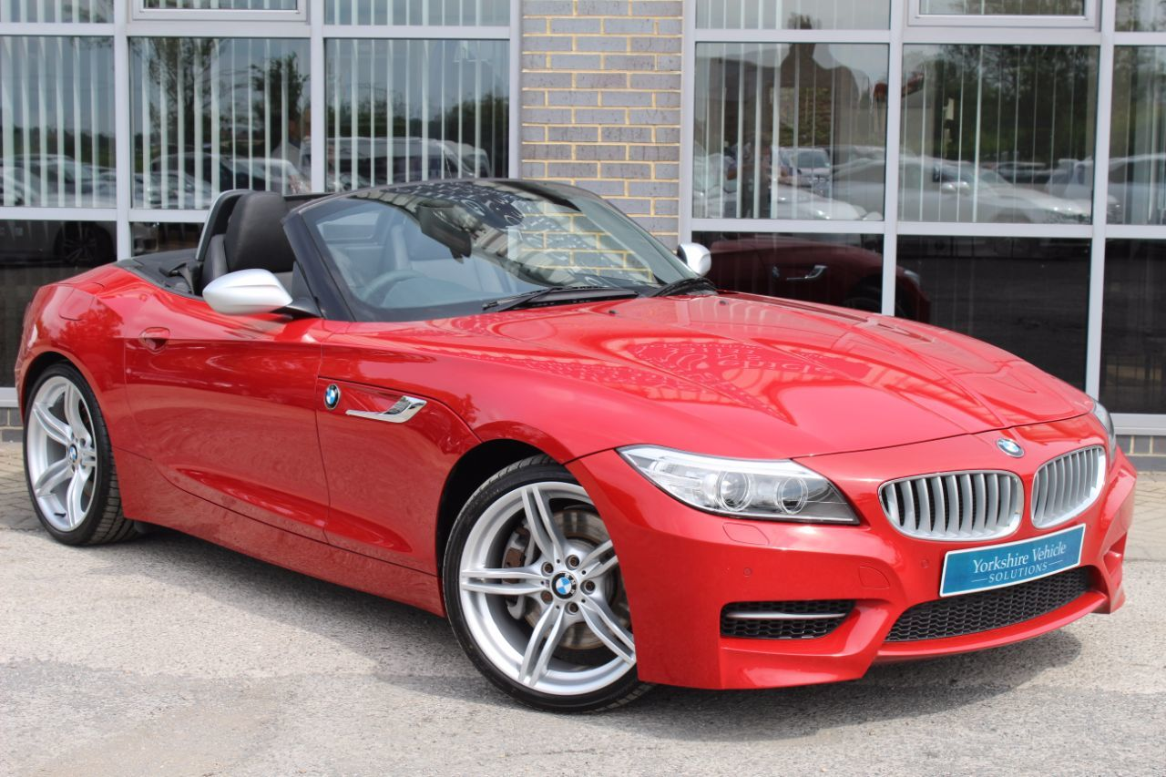 BMW Z4 3.0 35is sDrive 2dr DCT Convertible Petrol Red