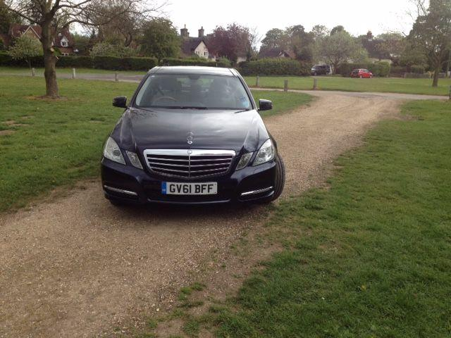 Mercedes-Benz E Class 2.1 E220 CDI BLUEEFFICIENCY EXECUTIVE SE SALOON DIESEL BLUE