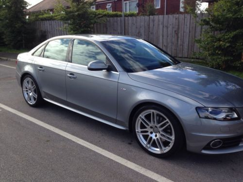 Audi A4 2.0 TDI S LINE SPECIAL EDITION Saloon Diesel Grey