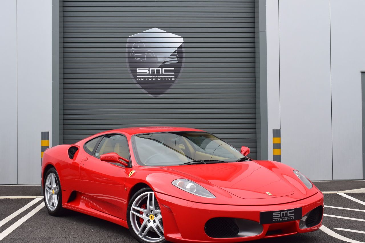Ferrari F430 4.3 6 speed manual, Full Ferrari History Coupe Petrol Red