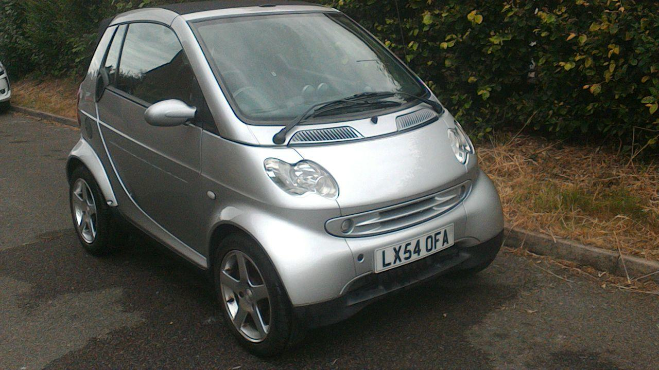 Smart Fortwo Cabrio 0.7 PASSION SOFTOUCH (61BHP) Convertible Petrol Silver
