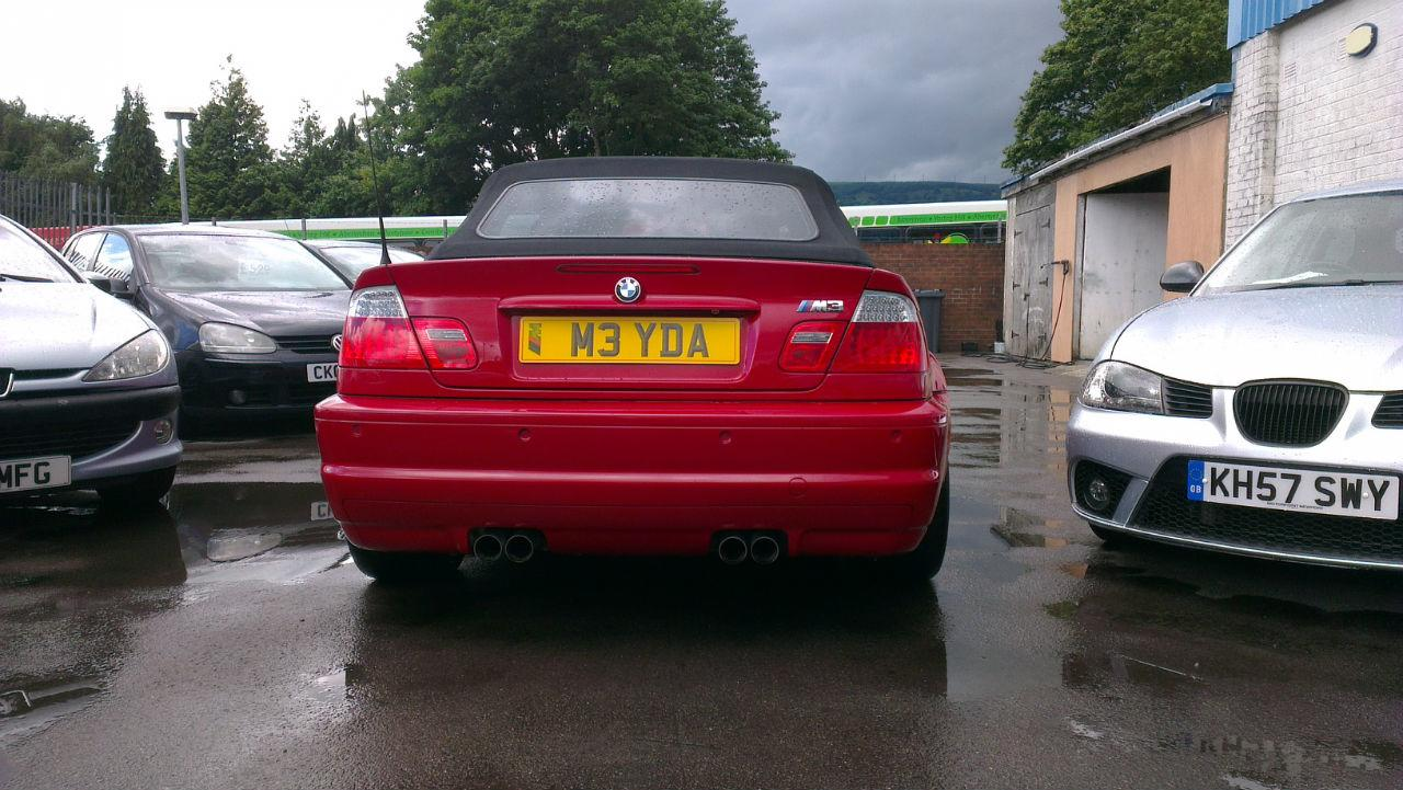 BMW 3 Series 3.2 M3 CONVERTIBLE PETROL RED