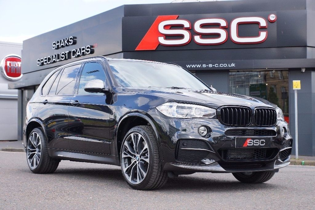 BMW X5 3.0 M50d Station Wagon Auto 5dr (start/stop) Four Wheel Drive Diesel Black