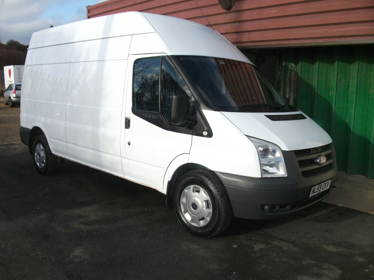 Ford Transit 2.4 High Roof Van TDCi 100ps Van Diesel WHITE at Lido Garage Hartlepool