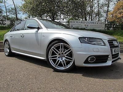 Audi A4 2.0 TDI 143 S Line 4dr SERVICE HISTORY Saloon Diesel Silver