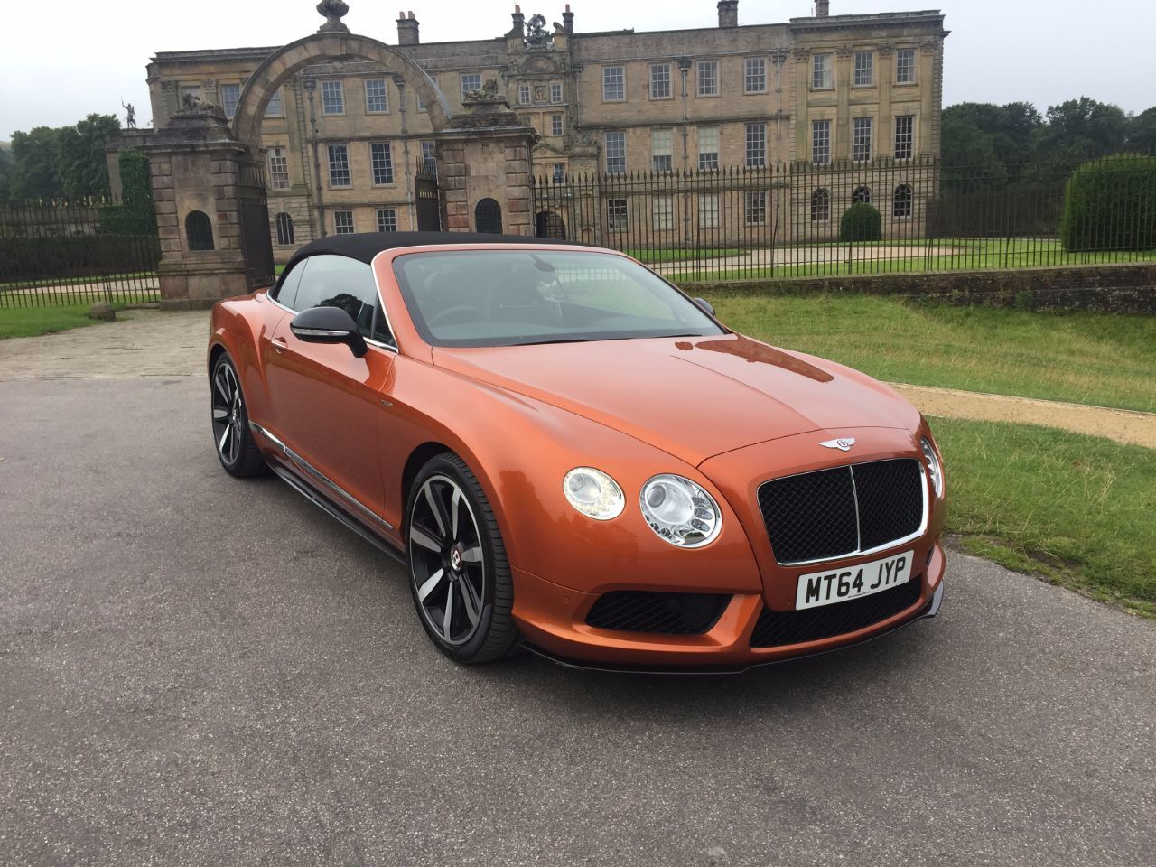Bentley Continental GTC 4.0 V8 S 2dr Auto Convertible Petrol Orange