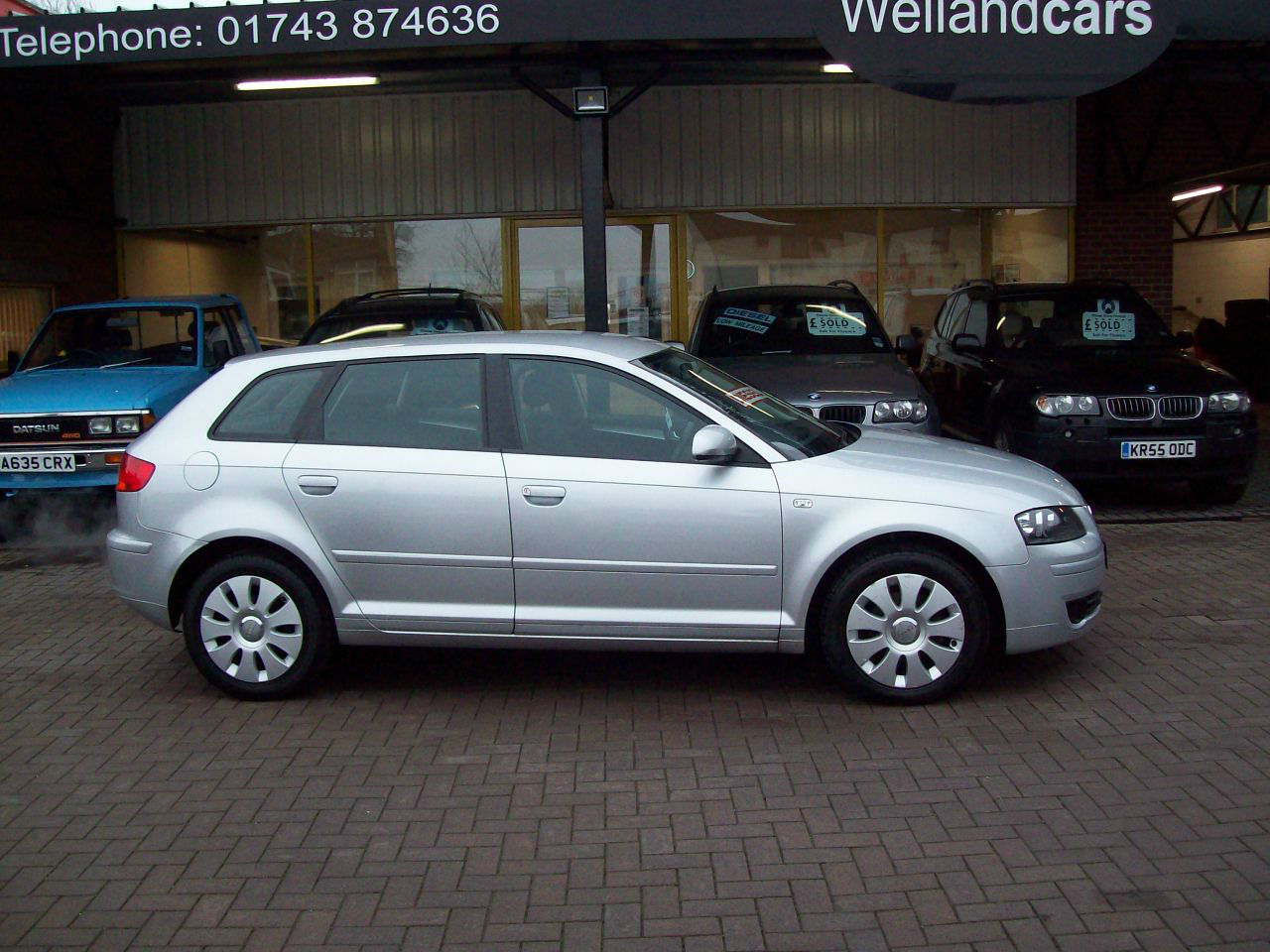 Audi A3 1.9 TDi Special Edition 5dr Sport Back Diesel, Full Leather, F/S/H, 1 Previous Owner Hatchback Diesel Silver at Welland Cars Shrewsbury