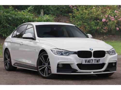 BMW 3 Series 3.0 340i M Sport Saloon Petrol Alpine White