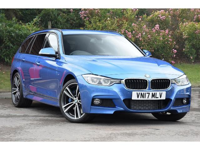 BMW 3 Series 3.0TD 330d xDrive M Sport Touring Estate Diesel Estoril Blue Metallic