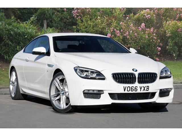 BMW 6 Series 3.0TD 640d M Sport Coupe Diesel Alpine White