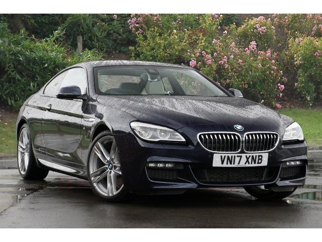 BMW 6 Series 3.0TD 640d M Sport Coupe Diesel Tanzanite Blue Metallic