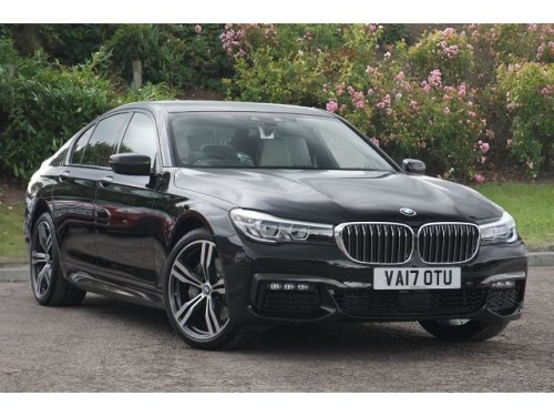 BMW 7 Series 3.0TD 740d xDrive M Sport (315 BHP) Saloon Diesel Ruby Black Metallic