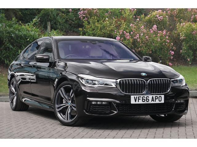 BMW 7 Series 3.0TD 740d xDrive M Sport (315 BHP) Saloon Diesel Almandine Brown Metallic