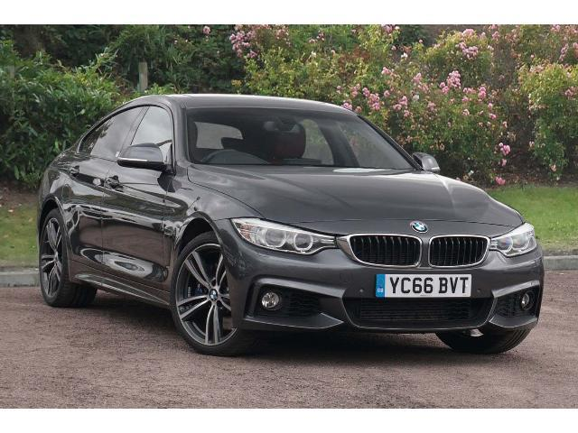 BMW 4 Series 3.0TD 435d xDrive M Sport (s/s) Coupe Diesel Mineral Grey Metallic