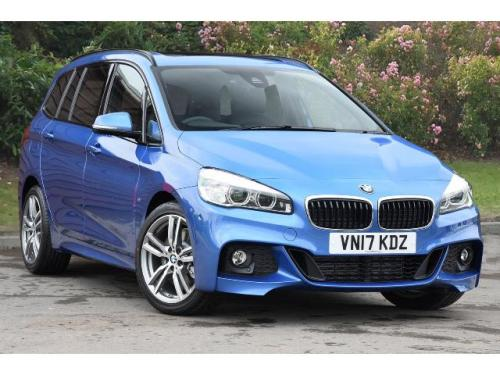BMW 2 Series 2.0TD 220d xDrive M Sport MPV Diesel Estoril Blue Metallic