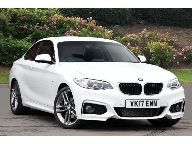 BMW 2 Series 2.0TD (184bhp) 220d M Sport Coupe Diesel Alpine White