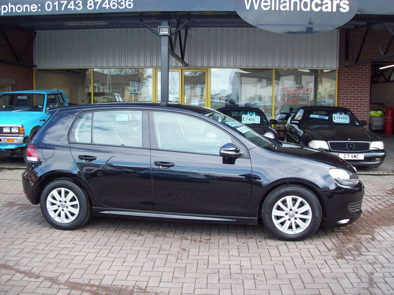 Volkswagen Golf 1.6 TDi 105 BlueMotion 5dr New Shape, Very Economical Free Tax, Upto 80 mpg. Hatchback Diesel Black at Welland Cars Shrewsbury