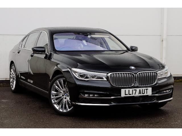 BMW 7 Series 3.0TD 740Ld xDrive Exclusive (315 BHP) Saloon Diesel Black Sapphire Metallic