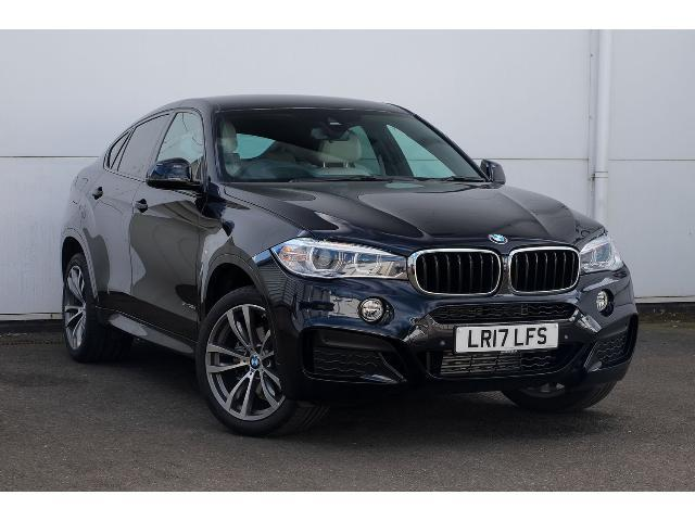 BMW X6 3.0TD xDrive30d M Sport Station Wagon Diesel Carbon Black Metallic