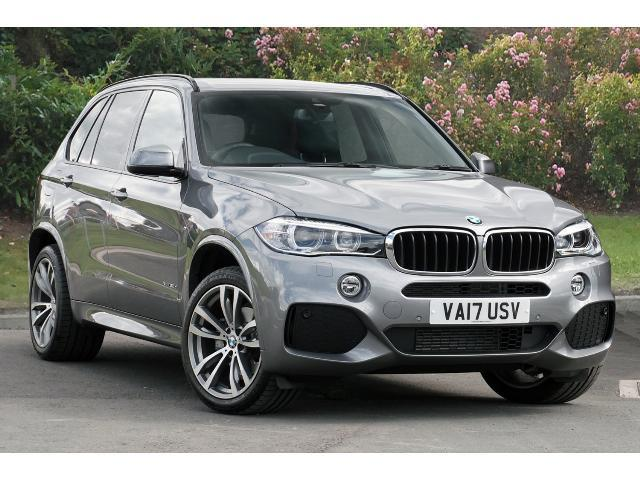 BMW X5 3.0TD (258bhp) 4X4 xDrive30d M Sport Station Wagon Diesel Space Grey Metallic